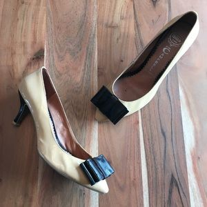 Jeffrey Campbell Situation Nude Patent Pumps